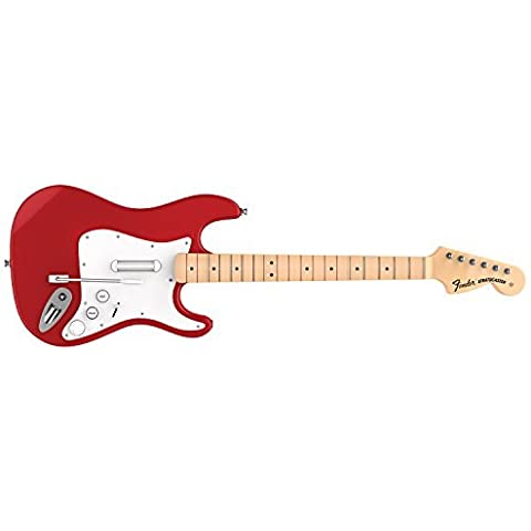 Rock Band 4 Wireless Fender Stratocaster Guitar Controller for PlayStation 4 - Red by Mad Catz