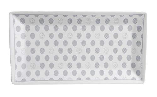 Krasilnikoff - Servierteller, Tablett - Ostereier - Porzellan - 26 x 14 cm