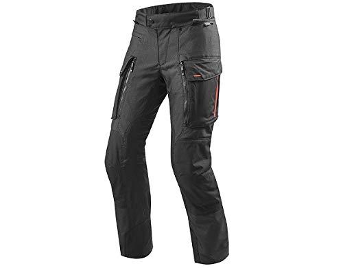 REV'IT! Motorradschutzhose, Motorradhose, Bikerhose Sand 3 Textilhose schwarz XL, Herren, Enduro/Reiseenduro, Ganzjährig