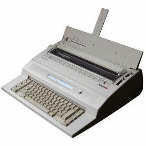 Olympia Schreibmaschine elektrisch Startype MD