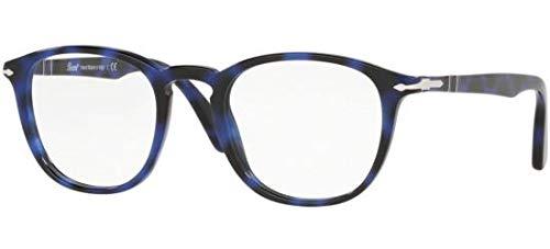 Ray-Ban Herren 0PO3143V Brillengestelle, Braun (Blue Grid), 49.0