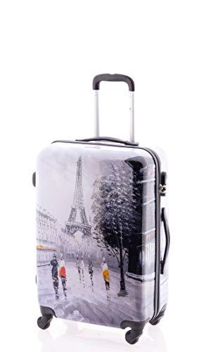 John Travel Maleta de Viaje, Paris tamaño Mediano, 65 L ...