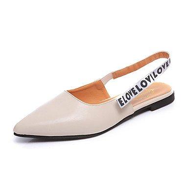 Donn's sandali Primavera Estate Comfort PU Abito casual Chunky tacco US8 / EU39 / UK6 / CN39