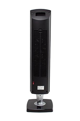 SUNTEC PTC-Heizlüfter Heat Tower PTC Design 2000 OSC [Für Räume bis 35 m³ (~15 m²), 3 Heizstufen + 2 Leistungsstufen, Oszillation, Timer + Fernbedienung, 2000 Watt] - 6