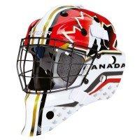 Bauer NME Street Torwart Maske Bambini (Nation), Farbe:Canada -