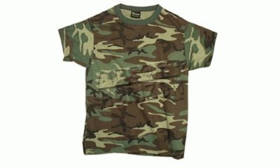 Mil-Tec Leichtes US Army Tarnshirt(Woodland/XXL)