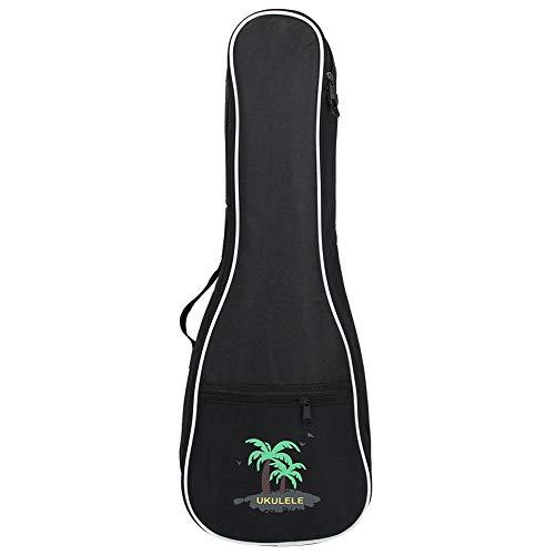 Bnineteenteam Tragbare Neue Art-Ukulele-Tasche 4 Schnur-Hawaii-Gitarren-Kasten-wasserdichte Gig-Tasche mit vorderer Tasche(23inch)