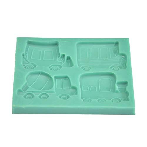 ndant kuchenform silikonform backen diy dekorative werkzeug küche kuchen backformen (farbe: grün) ()