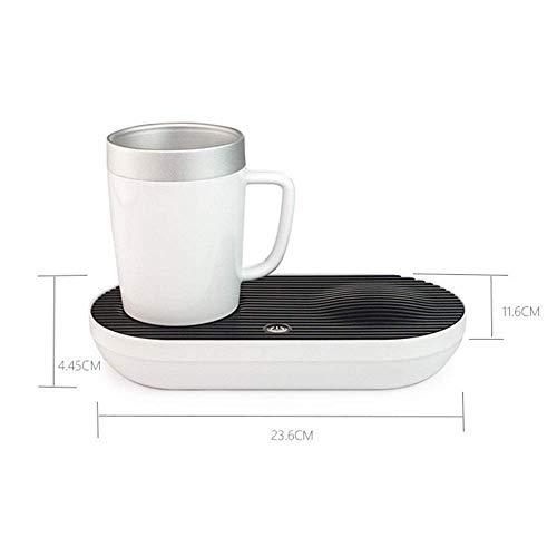Heizung & Kühlung Desktop Smart Cup, schnelle, intelligente 2-in-1-Desktop-heiße kalte Kaffeetasse für Home Office und persönliche Gesundheitspflege