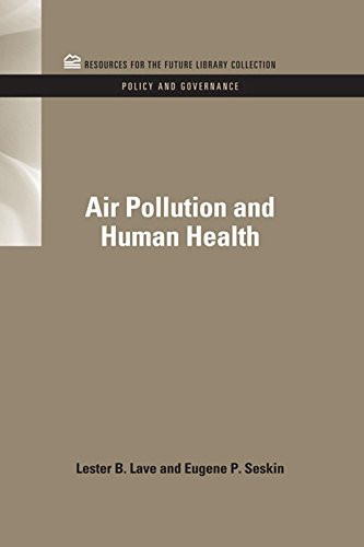 Air Pollution and Human Health (RFF Policy and Governance Set Book 6) (English Edition) -