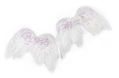 VBS 2 Engelsflügel Flügel Glitter Anhänger Engel basteln Set Feder