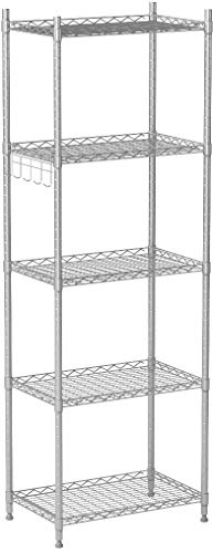 Cozzine 5-Shelf Shelving Unit, H...