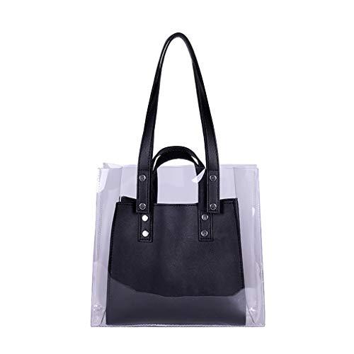 Mitlfuny handbemalte Ledertasche, Schultertasche, Geschenk, Handgefertigte Tasche,Frauen Transparent Wild Cute Messenger Schultertasche Handtasche