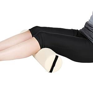 Jago Lagerungsrolle Gymnastikrolle Vollrolle Nackenkissen Yogarolle (L: ca. 62 cm x (Ø) 14cm) in DREI