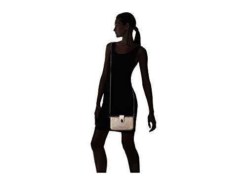 COACH Women's Metallic Color Block Turnlock Crossbody Gm/Platinum Multi One Size
