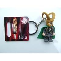 LEGO Super Heroes: Loki Llavero Con Verde Capa de LEGO