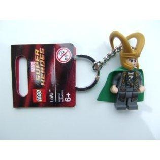 LEGO Super Heroes: Loki Schlüsselanhänger Mit Grünem (Heroes Super Cape)