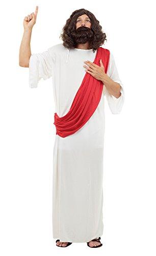 Jesus mens fancy dress costume