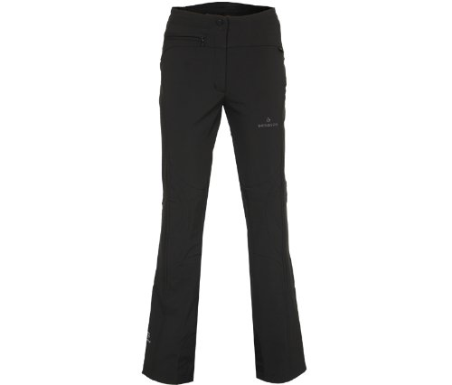 Bergson Damen Skihose Softshell Switch, Black [900], 36, YF13-806000B