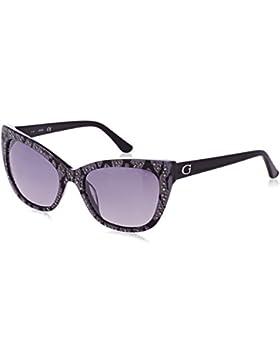 Guess GU7438, Gafas de Sol para Mujer, Negro (Nero), 54
