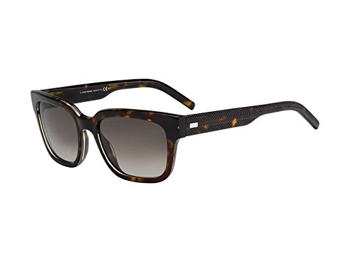 38b2a58ef5 Christian Dior Blacktie187S, Montures de lunettes Homme, Marron (Havana  Crystal/Brown Shaded