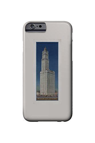 woolworth-building-new-york-vintage-poster-usa-c-1913-iphone-6-cell-phone-case-slim-barely-there