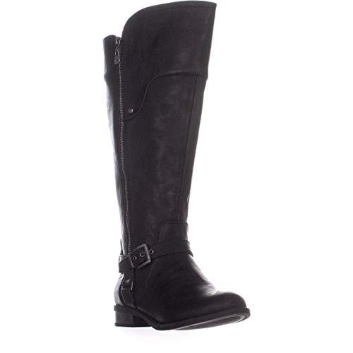 Guess Frauen Harson5 Weite Wadenoeffnung Geschlossener Zeh Fashion Stiefel Schwarz Groesse 8 US /39 EU -