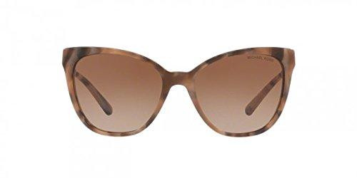 Michael Kors Damen NAPA 331113 55 Sonnenbrille, Brown Marble/Browngradient,