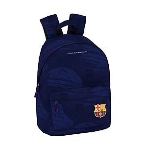 FC Barcelona Ball Oficial Mochila Juvenil Para Portátil 14,1″, 310x160x410mm