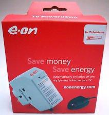 Energy-Saver-Powerdown-Surge-Protection-TV-Plug-Remote-Power-Down-Sensor-EON-by-EON