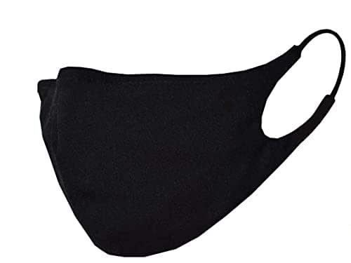 Mascherina lavabile nera