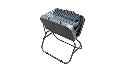 Home Outdoor Picknick Tragbare Holzkohle Koffer Bag Verdickte Edelstahl BBQ Barbecue Grill Ofen Ofen