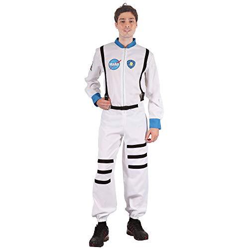 Bristol Novelty AC173 Astronaut Kostüm, Weiß, 42-44-Inch