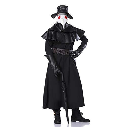 Erwachsene KostüM Kleid, Mantel Ghostly Bride Halloween Costume Vampire Party Cosplay Geisterbraut Abendkleid Karneval FüR Damen Dame AusfüHren KostüMe Zombie Braut Vampir Dress Set