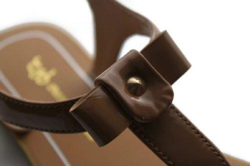 Chocolate Schubar  Eira,  Sandali donna Marrone (Marrone chiaro)