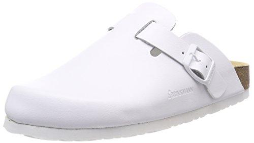 Dr. Brinkmann 603010, Mules mixte adulte Bianco (Weiß)