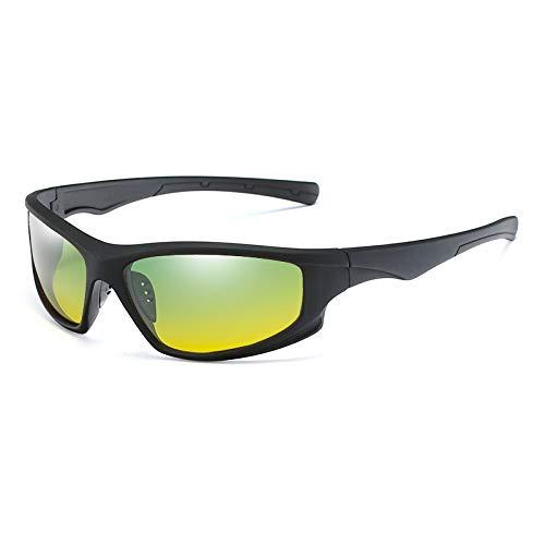 WBAHJTag Nachtsicht Driving Sonnenbrille Männer Frauen Polarisierte Gläser Sonnenbrille Beste Nachtsichtbrille UV400
