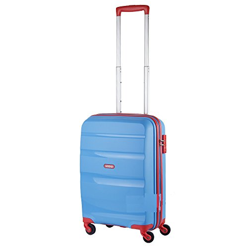 TROLLEY AMERICAN TOURISTER BON AIR SPINNER S STRICT 85A*001 SKY BLUE/ORANGE