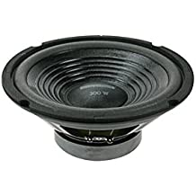 "HQ Power Spare woofer loudspeaker 10"" for VDSG10 - Altavoces (Piso, Empotrado en pared/techo, Montar en la pared, 30 - 20000 Hz, Negro, Alámbrico, 6,3 mm, No compatible)"