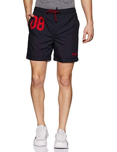 Superdry Herren Water Polo Swim Shorts, Blu (Darkest Navy 49p), M (Polo-shorts)