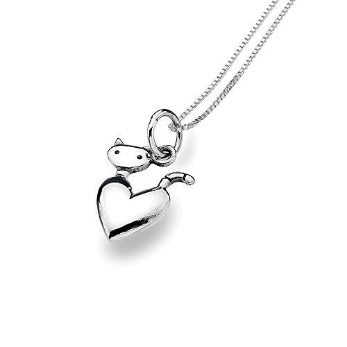 azzaria-argento-cat-collana-con-ciondolo-a-forma-di-cuore-argento-sterling-925-box-catena-lunghezza-