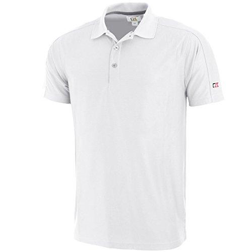 Cutter & Buck Herren DryTec Event Golf Poloshirt - Wei? - XL -