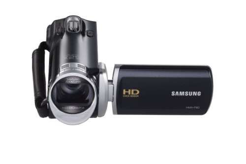 Samsung F90 Black Camcorder with 2.7″ LCD Screen and HD Video Recording