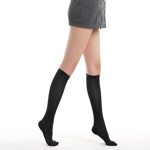Fytto Style 1020, komfortable Kompressionsstrümpfe für Damen, 15-20mmHg, kniehoch