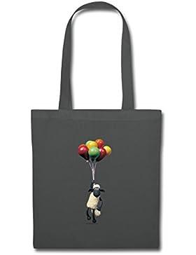 Shaun das Schaf Mit Luftballons Stoffbeutel von Spreadshirt®
