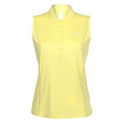 Polo Slazenger - Slazenger Femmes Sans Manche Golf Polo Shirt