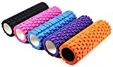 E RELAX Fitness Massage Foam Roller for Therapy Yoga/Gym/ Physio Injury/Exercise(Mix Colour)