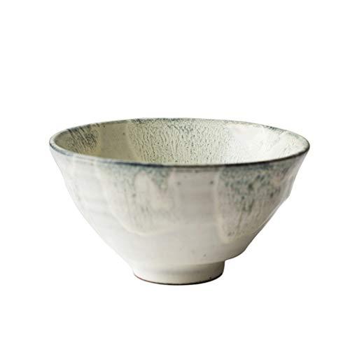 Bol - Japonais et coréen style créatif bol en céramique de 4,5 pouces Accueil rond petit bol blanc tableware