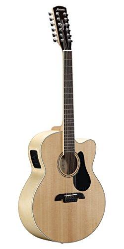 Alvarez aj80ce-12Artist Serie–Guitarra