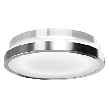 OSRAM Noxlite Circular LED Outdoor Light With Motion Sensor And Twilight  Sensor / 20W, 3000K   Warm White, Silver